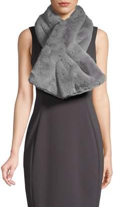 Saks Fifth Avenue Plush Faux Fur Scarf