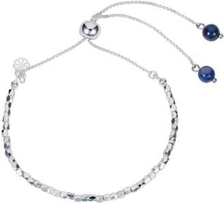 Lapis Nadia Minkoff - Friendship Bracelet Silver with Blue