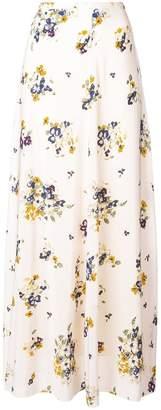 Forte Forte long floral skirt