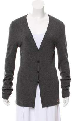Burberry Cashmere Long Sleeve Cardigan