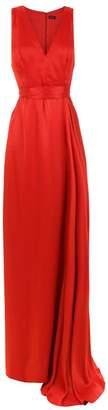Tufi Duek v-neck long dress