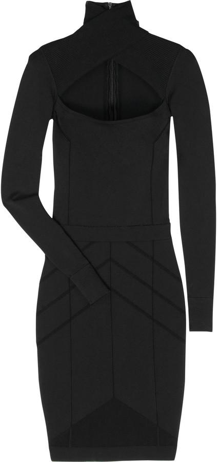 Narciso Rodriguez Stretch crepe cutout dress
