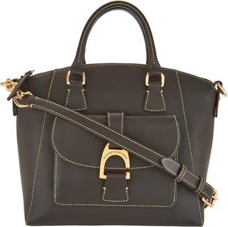 Dooney & Bourke Emerson Leather Satchel Handbag- Naomi