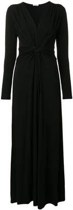 P.A.R.O.S.H. knot detail maxi dress