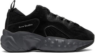 Acne Studios Black Manhattan Sneakers
