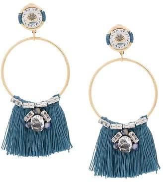 Rada' Radà fringe hoop earrings