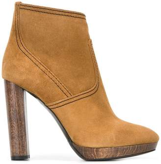 Burberry high heel ankle boots