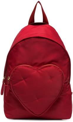 Anya Hindmarch red Chubby Heart nylon backpack