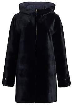 Zandra Rhodes Women's Reversible Sheared Mink Coat