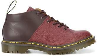 Dr. Martens colour block boots