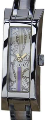 Gucci 110 Swiss Made Stainless Steel Quartz 36mm Womens Dress Watch c2000