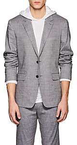 Theory Men's Gansevoort Linen-Blend Two-Button Sportcoat - Gray
