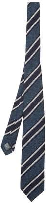 Dunhill Woven striped silk-blend tie