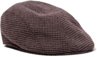 Altea Puppytooth Flannel Flat Cap