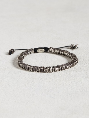 Oxidized Sterling Silver Bracelet $298 thestylecure.com