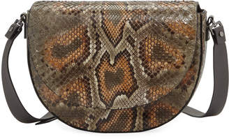 Brunello Cucinelli Python Crossbody Bag