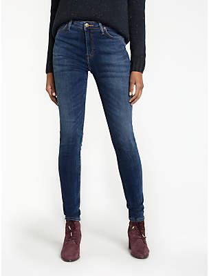 Lee Scarlett High Waist Skinny Jeans, Yankee Blue