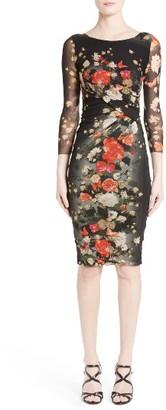 Women's Fuzzi Floral Print Sheath Dress $525 thestylecure.com