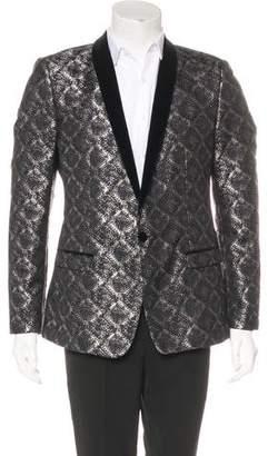 Dolce & Gabbana Brocade Velvet Tuxedo Jacket w/ Tags