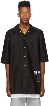 Rick Owens Black Cotton Magnum Shirt