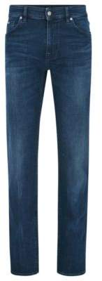 BOSS Hugo Cotton Jean, Regular Fit Maine 38/34 Blue