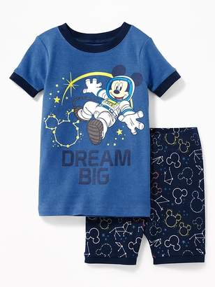 """Old Navy Disney© Mickey Mouse """"Dream Big"""" Sleep Set for Toddler & Baby"""