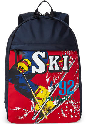 Polo Ralph Lauren Downhill Skier Men Water-Repellent Backpack
