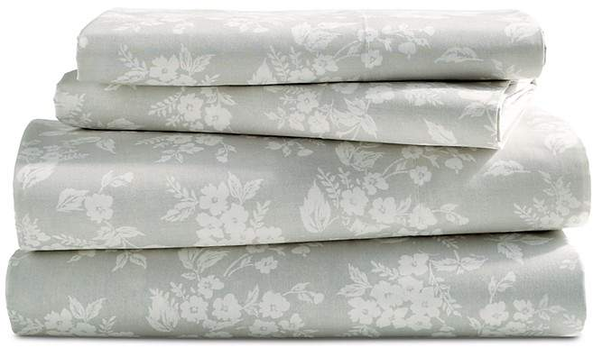 Sparrow & Wren Relaxed Wash Floral Sheet Set, Twin - 100% Exclusive