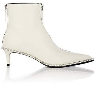 Alexander Wang Women's Eri Leather Ankle Boots - White