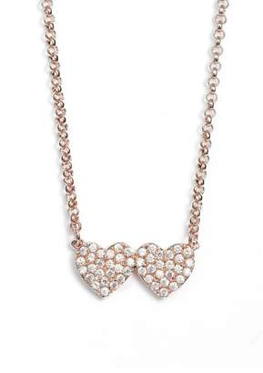 Kate Spade Yours Truly Pave Heart Necklace