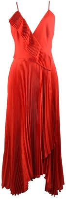 Milly Red Silk Dresses