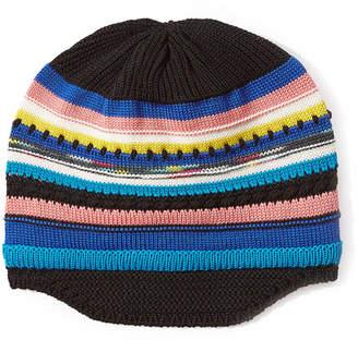Missoni Wool Striped Knit Beanie