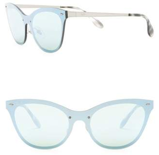 Ray-Ban 153mm Cat Eye Shield Sunglasses