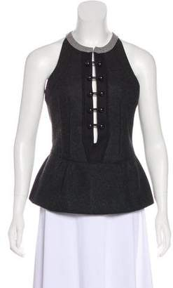 Isabel Marant Wool Sleeveless Top