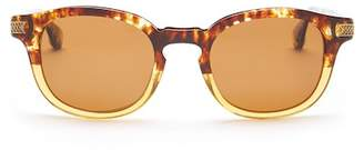 Robert Graham Men's Robert Keyhole 48mm Oversized Sunglasses