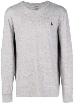 Polo Ralph Lauren logo long-sleeve sweater