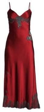 Natori Josie Lolita Silk Gown