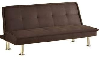 Venetian Worldwide Beach Front Futon Sofa, Espresso Microfiber