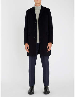OSCAR JACOBSON Savile Row wool-blend coat