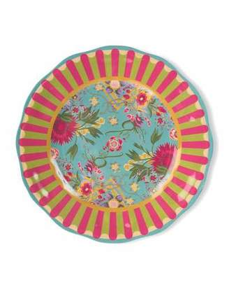 Mackenzie Childs MacKenzie-Childs Florabundance Melamine Dinner Plates, Set of 4