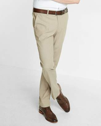 Express Slim Chambray Khaki Dress Pant