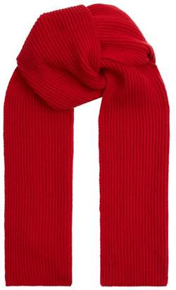 35a55427e6b at Harrods · Harrods Ribbed Cashmere Scarf