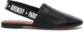 Givenchy Rivington Leather Slingback Flats