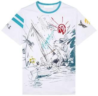 Burberry Cotton Sailing T-Shirt