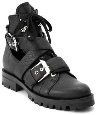 Dolce Vita Women's Preia Cutout Leather Ankle Boots