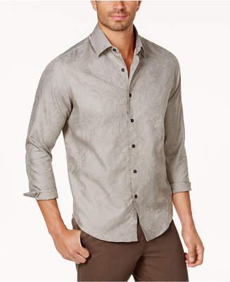 Tasso Elba Men's Paisley Jacquard Shirt, Created for Macy's