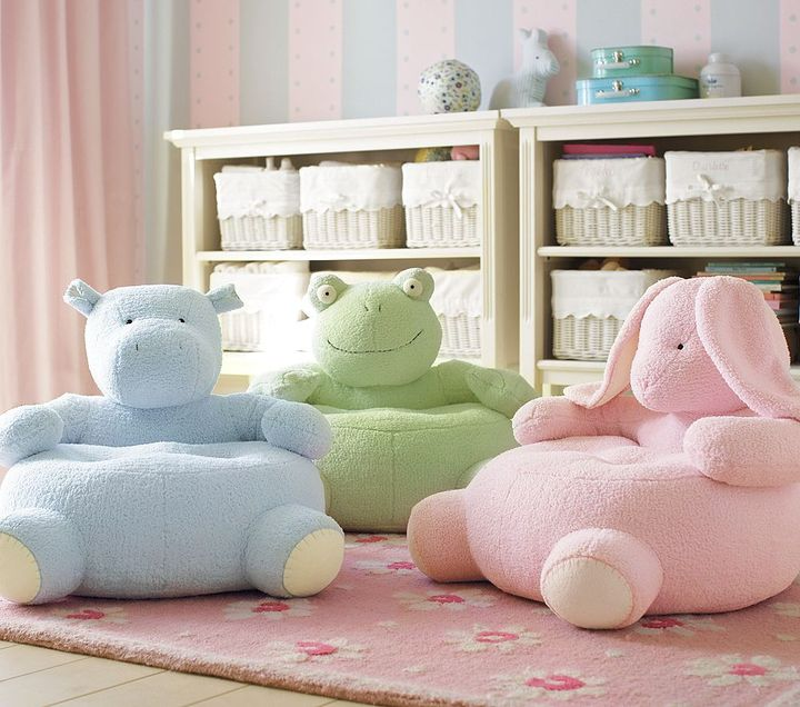 Pastel Critter Chairs