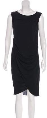 AllSaints Sleeveless Draped Dress