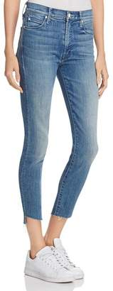 Mother Stunner Step Ankle Fray Jeans in Good Girls Do