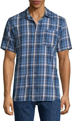 Vans Short Sleeve Button-Front Shirt
